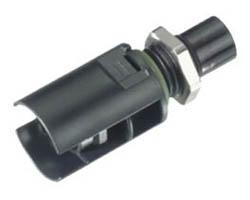 Prise à encastrer Mâle SOLARLOK Tyco 6 mm² 1-1394738-0 Négatif