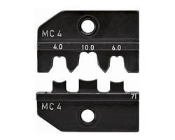Matrices de sertissage MC4 4-6-10 mm² Knipex 97 49 71